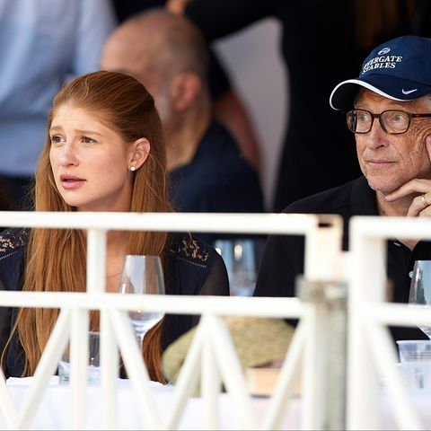 Jennifer und Bill Gates