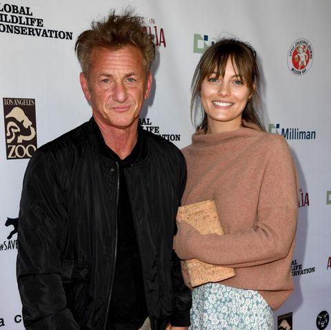 Sean Penn und Leila George