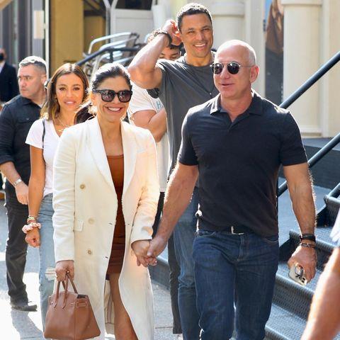Jeff Bezos und Lauren Sanchez gehen zum Lunch