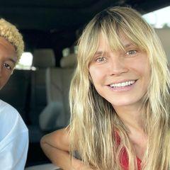 Heidi Klum zeigt ein Foto von Sohn Henry
