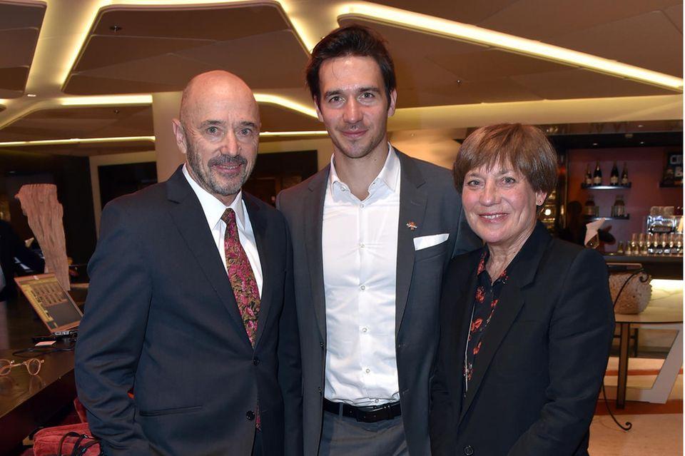 Christian Neureuther, Felix Neureuther und Rosi Mittermaier