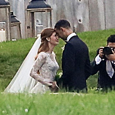 Jennifer Gates und Nayel Nassar können ihr Glück kaum fassen: Endlich sind sie Mann und Frau!