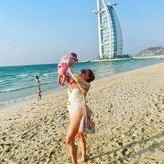 Georgina Fleur in Dubai