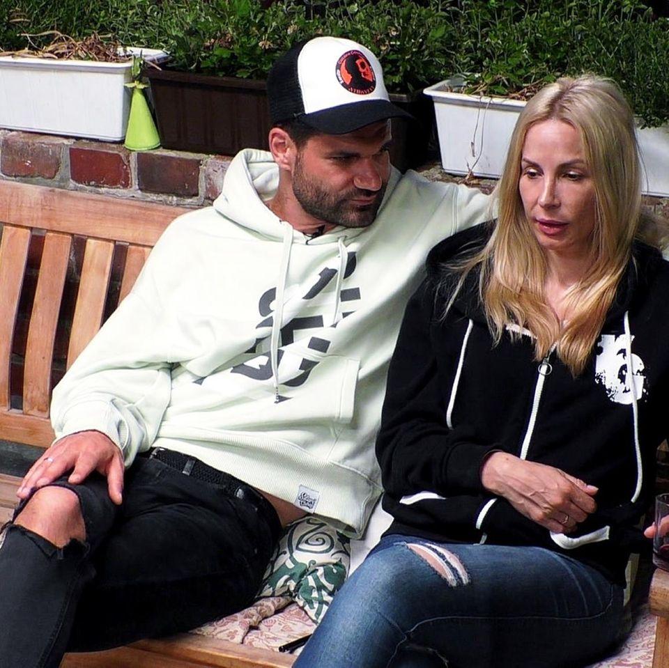 """Mike Cees-Monballijn und Michelle Monballijn im """"Sommerhaus der Stars"""""""