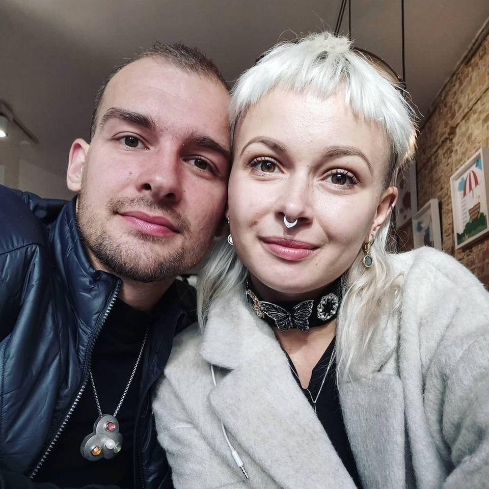 Eric Stehfest und seine Frau EdithStehfest