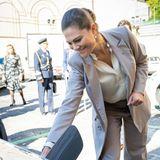 RTK: Prinzessin Victoria besucht einen Energiekonzern in Italien
