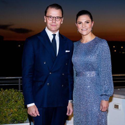 RTK: Prinz Daniel und Prinzessin Victoria beim Dinner in Rom
