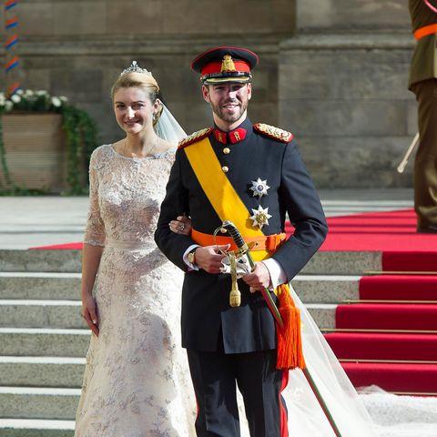 STÉPHANIE DE LANNOY + GUILLAUME VON LUXEMBURG: Heute ist ihr 9. Hochzeitstag