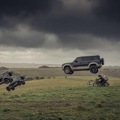 James Bond: Fahrzeug-Stunts beim Dreh