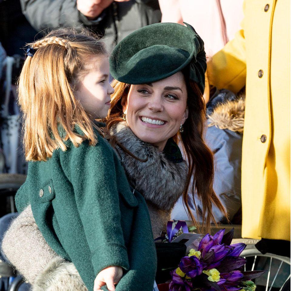 Prinzessin Charlotte und Herzogin Catherine