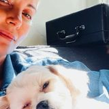 Hollywuff: Charlize Theron mit Hund