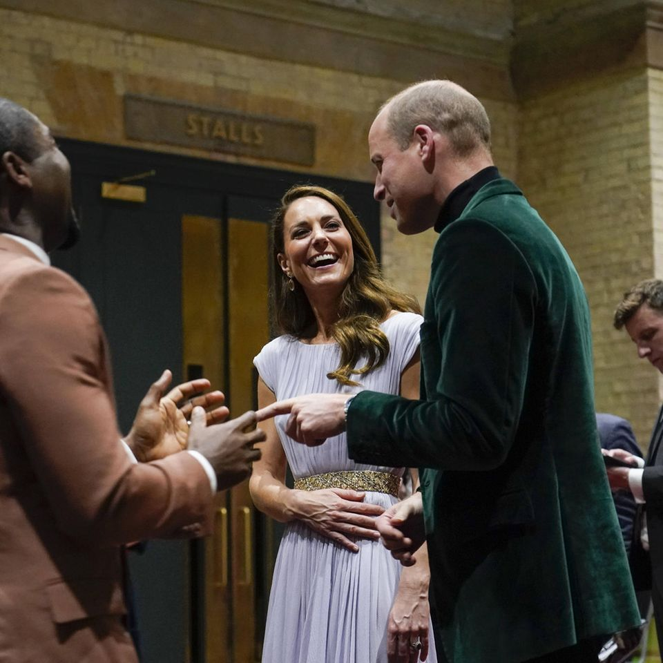 Herzogin Catherine und Prinz William bei dem Earthshot Prize Award in London 2021