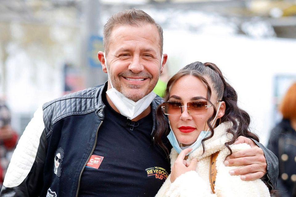 Willi Herren(†) mit seiner Tochter Alessia.