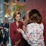 WSNF: Applaus für Gastgeberin Katrin von Hallwyl