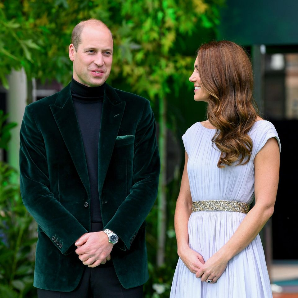 Prinz William undHerzogin Catherine