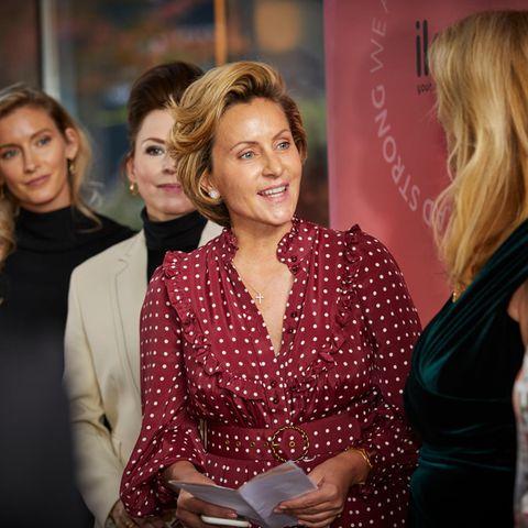 Teaser - ikoound DKMS Life hosted by GALA Charity-Lunch in München.Katrin von Hallwyl hält eine Rede.