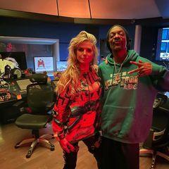 Gezwitscher: Heidi Klum und Snoop Dogg