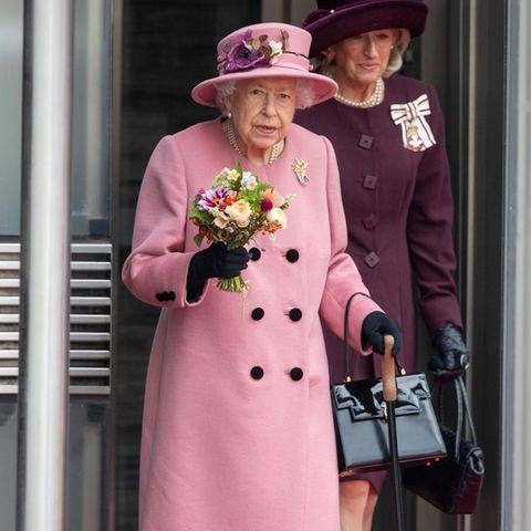 Bei der Eröffnung des Walisischen Parlaments