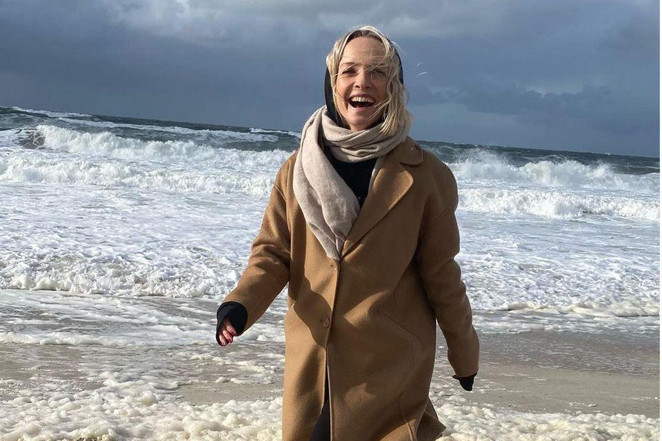 Janin Ullmann macht Urlaub auf Sylt.