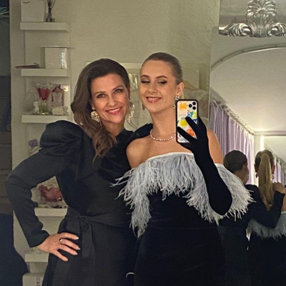 Prinzessin Märtha Louise und ihre Tochter Leah Isadora Behn