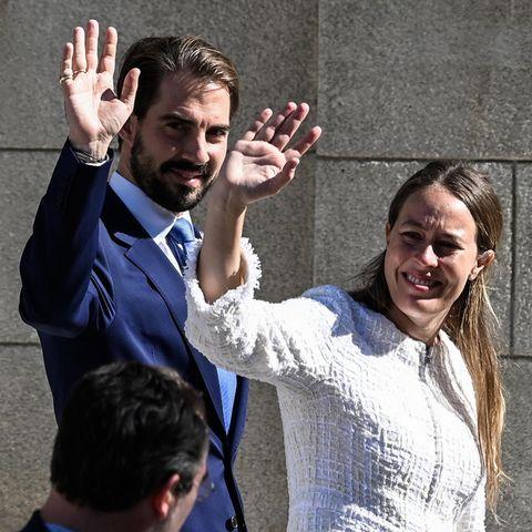 Prinz Philippos von Griechenland und Nina Flohr