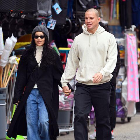Gesichtet: Zoë Kravitz und Channing Tatum halten Händchen in New York