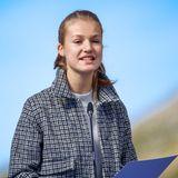 RTK: Prinzessin Leonor bei ihrer Rede im Bergdorf