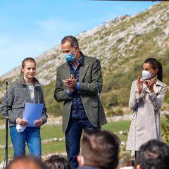 RTK: Die spanische Königsfamilie klatscht für Prinzessin Leonor