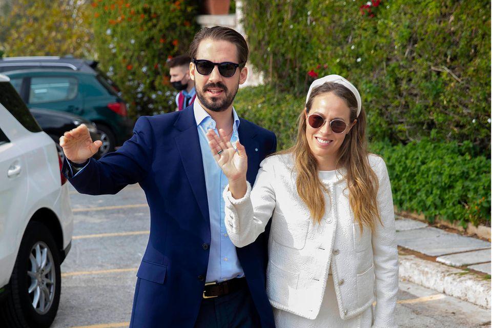 Hochzeit: Prinz Philippos von Griechenland und Prinzessin Nina
