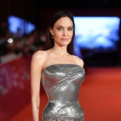Der Style von AngelinaJolie: Das ist nicht ihr einziger Wow-Look beim Filmfestival in Rom.