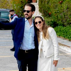 Prinz Philippos und Prinzessin Nina