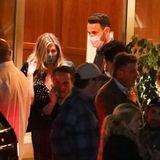 Gesichtet 2021: Jennifer Aniston und Unbekannter