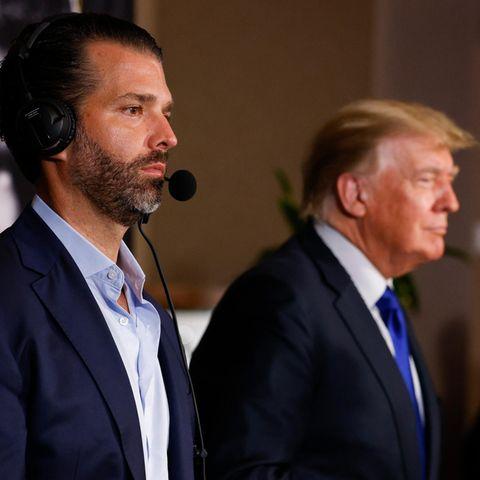Donald Trump Jr: Makaberer Seitenhieb für Alec Baldwin