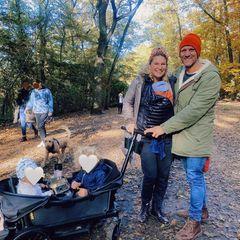 Janni+Peer: Herbstausflug mit Baby Merlin und den Kids