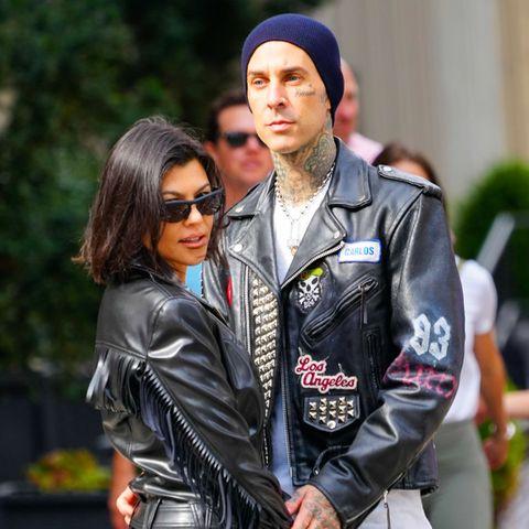 Travis Barker und Kourtney Kardashian in New York, Oktober 2021
