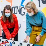 RTK: Königin Mathilde am Tischkicker in Reha-Klinik