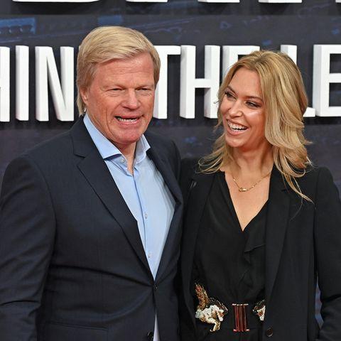 Oliver Kahn mit Ehefrau Svenja