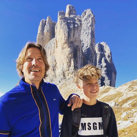 Outdoor: Hakim-Michael Meziani mit Sohn Mika