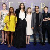 Angelina Jolie auf der Filmpremiere von ''Eternals'' in London