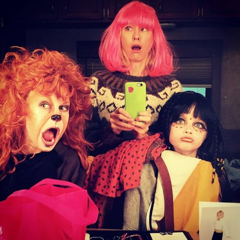 Halloween: Naomi Watts verkleidet