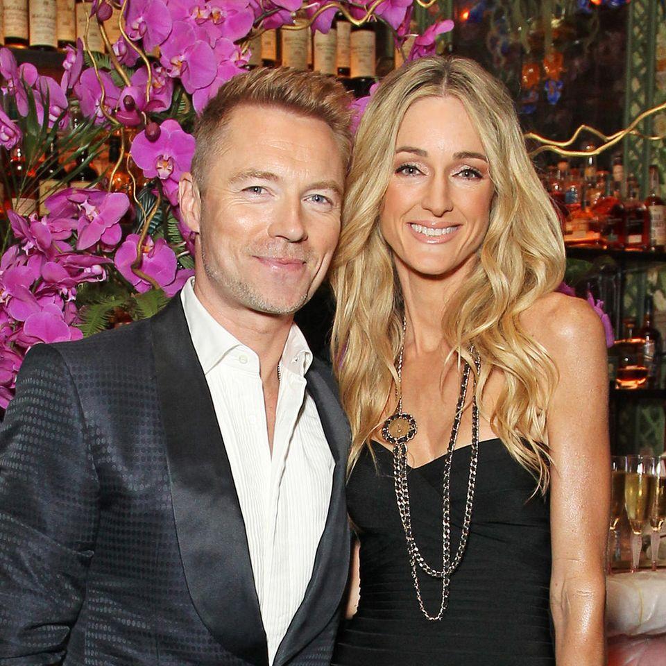 Ronan Keating und Ehefrau Storm