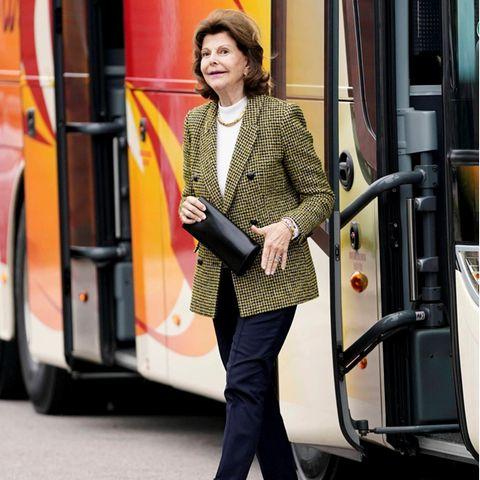 Königin Silvia: Dieser Look macht sie optisch um Jahre jünger