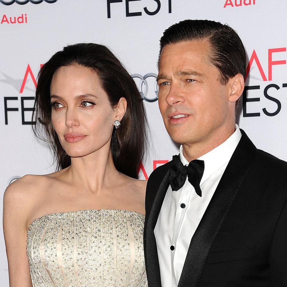 Angelina Jolie und Brad Pitt.